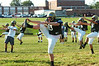 Lansdale Catholic football team at morning practice.    Monday August 11, 2014.   Photo by Geoff Patton