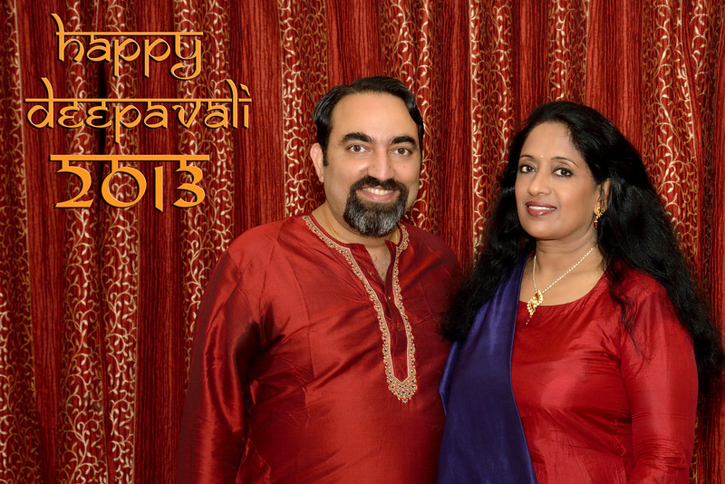 Happy Diwali greetings from Arundhathi and Suchit Nanda, 2013.