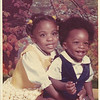 Valarie Lynette age 3 1/2 years old and Gregory LaMonte' 11 months old.  Does this dress look familiar?