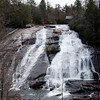 Another beautiful waterfall! This trail in DuPont State Forest, North Carolina was filled with them.