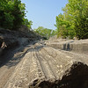 Glacial grooves at Kelleys Island State Park. GPS: N41 36.96' / W82 42.41'. PHOTO CREDIT: Courtesy Ohio Department of Natural Resources.