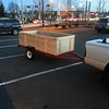 Progress - Trailer Construction Complete!  Maiden to pick up one piece fiberglass tub/shower