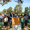 groundbreaking ceremony for a new community park in Acosta Plaza