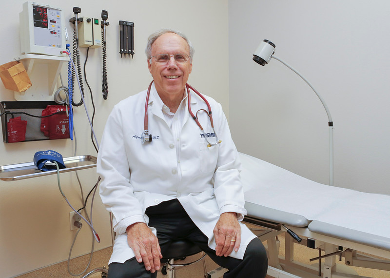Dr. Alfred Sadler at Urgent Care