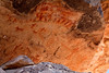 Pictographs near Herber Arizona