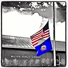 Half-Mast for Aurora, Colorado.
