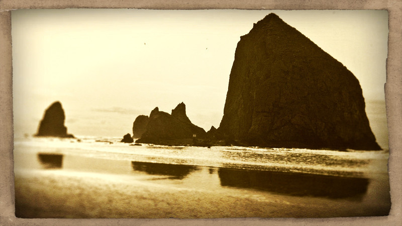 IPhone Art Cannon Beach Oregon