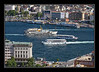Golden Horn traffic from Galata Tower
