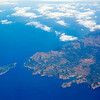 Aerial view of Majorca north of Malorca balearic