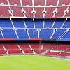 view of Nou Camp Stadium in Barcelona, FC Barcelona