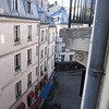 Paris apartment street view