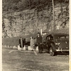 This photo was taken circa 1938 at Hairpin Turn in North Adams, Massachusetts ... Mary Helen Coppinger Landrigan, Mary Helen Landrigan, Jr., David T. Landrigan ...