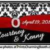 4-19-14 Courtney and Kenny Wedding Logo