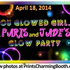 4-18-14 Paris and Jade's Glow Party