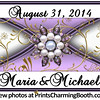 8-31-14 Maria and Michael Wedding Logo