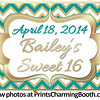 4-18-14 Bailey's Sweet 16 Logo