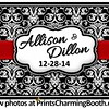 12-28-14 Allison and Dillon Wedding logo
