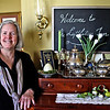 Innkeeper, Mary Dugan, giving a tour and talking about the Lyttleton Inn which she runs in Littleton.  SUN/ David H. Brow
