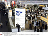 "P8.2 / A person at a trade show, event or exposition, or somebody walking into a room with lots of people already in it.<br /> Choice 3 of 9<br /> <br /> Stand of the software company SAP at the CeBIT trade fair.<br /> Some 4300 exibitors from 69 countires will present their products from 03 til 08 March at the trade show for information and telecommunications technology ""CeBIT"" .<br /> This year's partner country is the US state California.<br /> Hanover, GERMANY -03/03/2009/0903051026 (Newscom TagID: sipaphotostwo311476) [Photo via Newscom]"