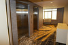 Elevators on sixth floor at the Marriott Courtyard hotel in Kulpsville.   Wednesday,  July 2, 2014.  Photo by Geoff Patton