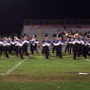 Marching band in motion