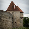 Tallinn - Medieval Old Town, Estonia.<br /> 26 Jun 2014