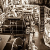 Expedition Day 11 - Engine Room Tour - Turbine Room; Heading South in the Barents Sea.<br /> 11 Jul 2014
