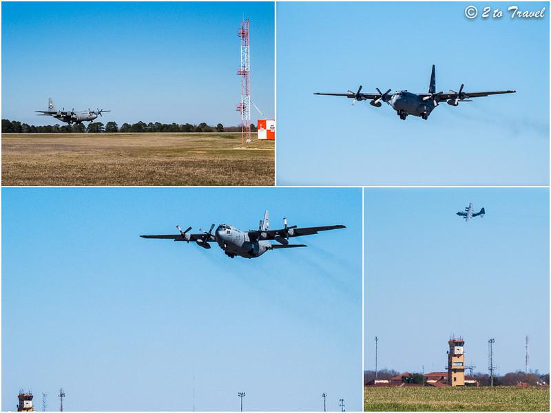 C-130 Hercules at Maxwell AFB - Montgomery, AL.<br /> 3 Mar 2013