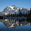Mount Shuksan at Sunset from Picture Lake