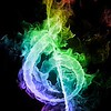 colorful-smoke-musical-note_107294