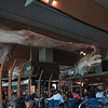 Queenstown New Zealand - 02/03/2015.  All Rights Reserved. No unpaid usage without prior written consent. Gollum and other LOTR related things hanging from the ceiling of Wellington Airport.