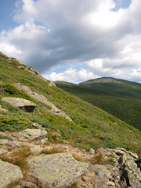 Mount Washington from Mount Jefferson, Presidential Range, New Hampshire.