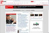 P16.4 / Online advertisement / interactive promotion<br /> Choice 1 of 9<br /> <br /> Computer screen shot of the CNN.com's main home page on March 24, 2009