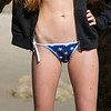 Nikon D800 Photos Beautiful Redhead Bikini Swimsuit Model Goddess in Malibu Sea Cave!