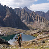 Hiking in the Needle Mountains