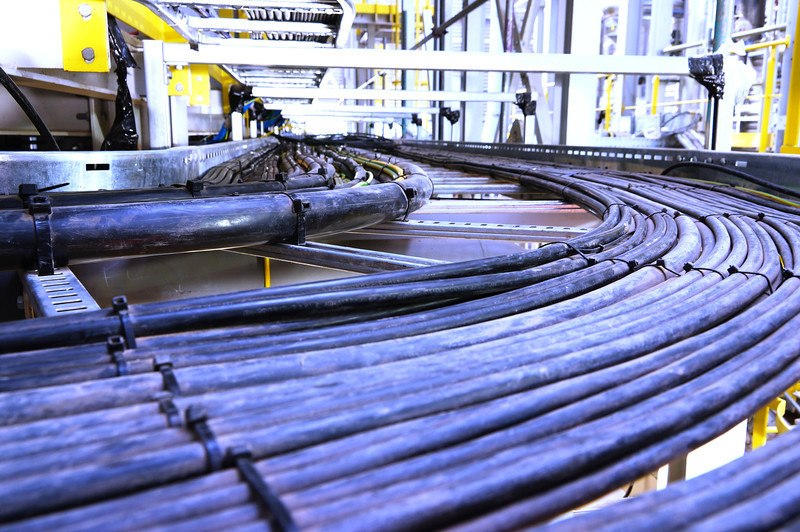 Cable runs for new ELP to liquid fuel plant at Avonmouth.