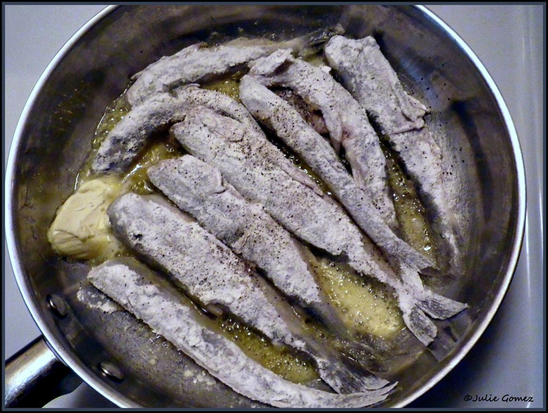 Smelt in Frying Pan