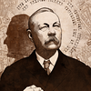 "Portrait for Sir Arthur Conan Doyle for ""Steampunk: History Beyond Imagination"".   © 2011 Aeronaut Productions LLC"