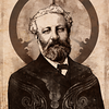 "Portrait of Jules Verne for ""Steampunk: History Beyond Imagination"".   © 2011 Aeronaut Productions LLC"