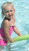 Eleanor Deller, of Havertown, age 2 enjoys the baby pool.  Photo by Anne Neborak Delco News Network.