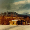 1 26 2014 Abandoned Cabin along Alaska Hwy, Yukon Territory, Cracker Creek, Dec, 1972