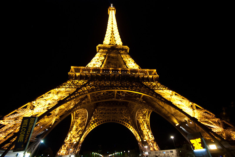 Eiffel at Midnight