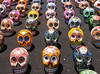 Latin American Painted Skulls