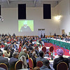 Peace Conference 2013 TC The keynote address was given by His Holiness, Hadhrat Mirza Masroor Ahmad, Head of the worldwide Ahmadiyya Muslim Community. He appealed for an end to inequality otherwise another World War is inevitable unless true justice prevails.
