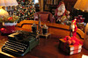 A decorated area in the library . (The Reporter/Geoff Patton)