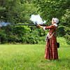Woman and Musket