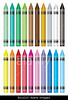 NEW m150, Fig 4.10 / Choice 2 of 7<br /> <br /> <br /> BG1DJ3 Selection of many wax crayons with rainbow selection of colors