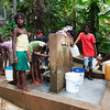 Haiti water bucket