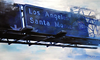 """SM Freeway sign- 36"""" by 60"""""""
