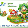 MACY'S SPROUT(R) THANKSGIVING DAY PARADE(R) FLOAT